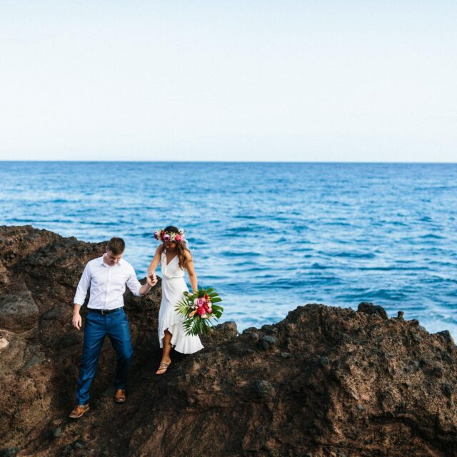 Excited to see some of my favorite humans in Hawaii next month 😝😝 their elopement day was....magicallybeautifullyperfectandamazingletsdoitagain.