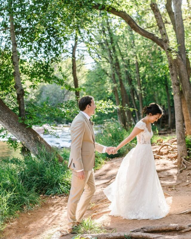 Some weddings you don't forget. They are pretty magical and memorable.  Like Cameron + Jenn's Sedona wedding in 2018. Full of color, different traditions, and a disco party for a reception. One of the best dance parties I've ever been to!
